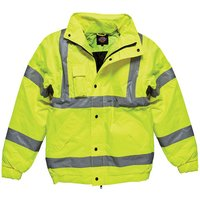 Dickies Dickies High Visibility Bomber Jacket Large