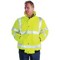Dickies Dickies High Visibility Bomber Jacket XXXXL