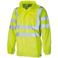 Dickies Dickies Hi Visibility Lightweight Waterproof Jacket Large