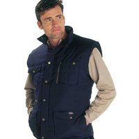 Dickies Dickies Professional Combat Bodywarmer Navy - Large