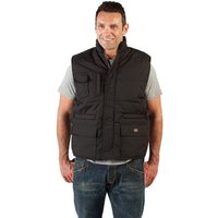 Dickies Dickies BW11025 - Black Professional Combat Bodywarmer (Large)