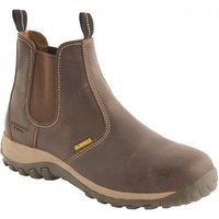 DeWalt DeWalt Radial Safety Dealer Boot Brown Size 8