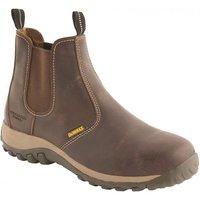 DeWalt DeWalt Radial Safety Dealer Boot Brown Size 9