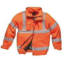 Dickies Dickies - GO/RT Orange Hi-Vis Bomber Jacket (Medium)