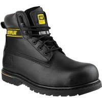 Cat Cat Holton Safety Boot In Black (Size 8)