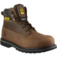 Cat Cat Holton Safety Boot In Brown (Size 8)