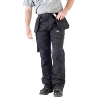 "Dickies Dickies Black Redhawk Pro Trousers (42"" Tall)"