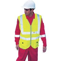 Click to view product details and reviews for Dickies Dickies Hi Vis Technical Waistcoat S.