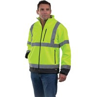 Dickies Dickies High Visibility Two Tone Soft Shell Jacket M