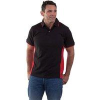 Dickies Dickies Two Tone Polo Shirt (Red/Black) Medium