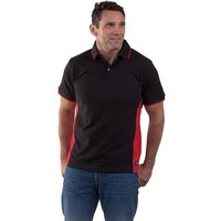 Dickies Dickies Two Tone Polo Shirt (Red/Black)  Large