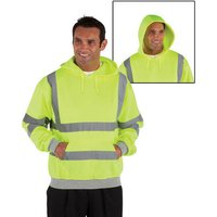 Dickies Dickies Hi-Vis Hooded Sweatshirt Small