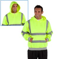 Dickies Dickies Hi-Vis Hooded Sweatshirt Med