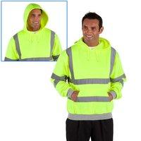 Dickies Dickies Hi-Vis Hooded Sweatshirt XLarge