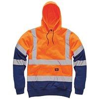 Dickies Dickies SA22095 Hi-Vis Hoodie (Orange) - 4XL