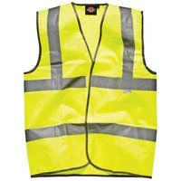 Dark Nights Dickies Highway Safety Hi-Vis Waistcoat - M
