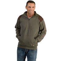 Dickies Dickies AG8500 Kendrick Zip Through Sweatshirt Moss - L