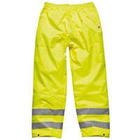 Dark Nights Dickies Highway High Visibility Safety Trousers - L