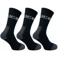 Click to view product details and reviews for Jcb Jcb Mens Black High Protection Work Socks 3 Pairs.