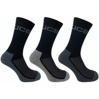 Click to view product details and reviews for Jcb Jcb Mens Black Cotton Rich Everyday Breathable Work Boot Socks 3 Pairs.