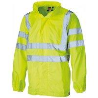 Dickies Dickies Hi Visibility Lightweight Waterproof Jacket Small
