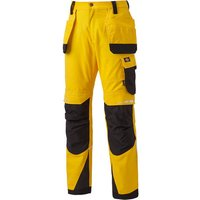 Dickies Dickies DP1005 Pro Holster Trousers Yellow 32 Tall