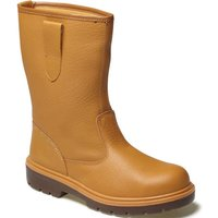 Dickies Dickies Super Safety Rigger Boot Unlined Tan Size 7