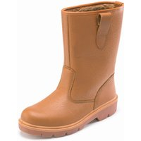 Dickies Dickies Super Safety Rigger Boot Lined Tan 5.5