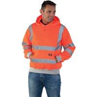 Dickies Dickies SA22090 GO/RT Hi-Vis Safety Hooded Sweatshirt (Medium)