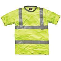 Dickies Dickies - Yellow Hi-Vis T-Shirt (Small)