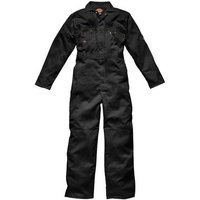 Dickies Dickies Redhawk Zip Front Coverall Black 48R