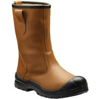 Dickies Dickies Dixon Lined Rigger Boots Tan Size 10