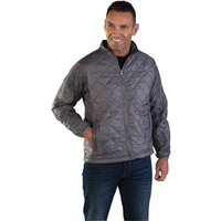 Click to view product details and reviews for Aqua Aqua Lightweight Quilted Interactive Jacket Large Grey.