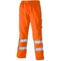 Dickies Dickies SA35015 High Visibility Polycotton Trousers (XXL)