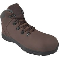 Click to view product details and reviews for Torque Torque Brown Hiker Safety Boot – Sizes 8 11.