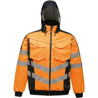 Click to view product details and reviews for Regatta Regatta Professional Tra314 Hi Vis Pro Bomber Jacket Orange Or Yellow.