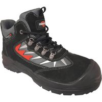 Click to view product details and reviews for Torque Torque Mews Black Suede Safety Boot Sizes 8 11.