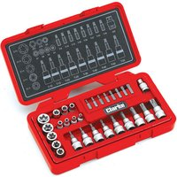 Clarke Clarke PRO162 30 Piece Torx-Star & Security Socket Set