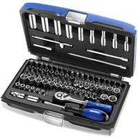Britool Britool Expert 1/4 73 Piece Socket Set 4-14mm & 3/16-9/16