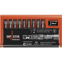 Click to view product details and reviews for Wera Wera 8740 51 55 67 9 Imp Dc Bit Check Impaktor Ph Pz Hex Torx 10 Piece Set.