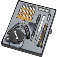 Clarke Clarke CHT742 36 Piece Precision Tool Set