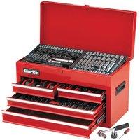 Clarke Clarke CHT864 235 Piece AF/Metric Tool Set in Chest