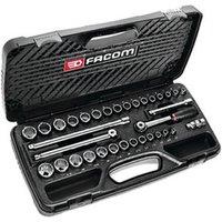 Facom Facom J.430MU 3/8 Drive Metric/AF 34 Piece Socket Set