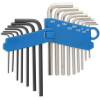 Laser Laser Miniature Hex Key Set mm and AF
