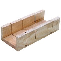 Machine Mart 9 Inch Wood Mitre Box 230mm x 98mm