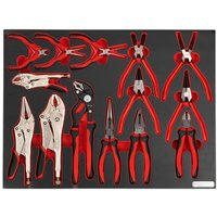 Sealey Sealey TBTP05 14 Piece Tool Tray with Pliers Set