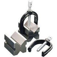 Clarke Clarke ET115 V Block & Clamp Set