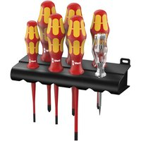 Wera Wera 160Is/7 Kraftform Plus VDE Slimline 7 Piece Screwdriver Set