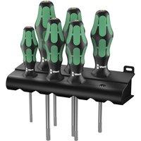 Machine Mart Xtra Wera Kraftform 367/6 6-Piece TORX Screwdriver Set & Rack