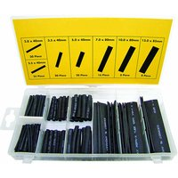 Machine Mart 127 Piece Heat Shrink Sleeve Kit